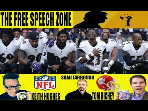 The NFL, Trump, The Anthem and Free Speech: A Discussion