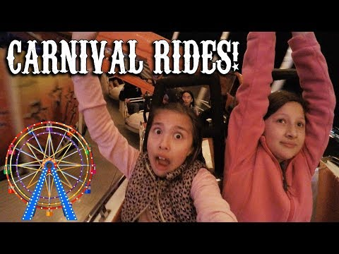 SCARY CARNIVAL RIDES!!! Spring Break Fun with Friends!