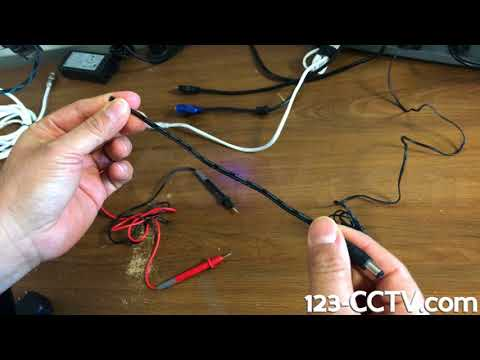 How to Connect a Power Supply Terminal to a Two-Lead Power Cable