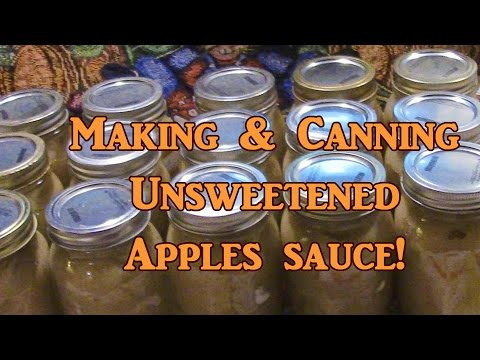 Making & Canning Applesauce!