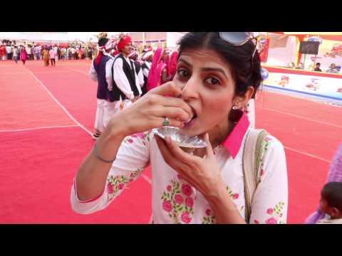 (हिंदी + English) VLOG :  मेला और मेले में कुछ ज़्यादा खाना : Bhimthdai Jatra Mela Pune 2017