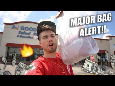 Trip to the Thrift #230 | MAJOR BAG ALERT! HUGE VINTAGE HAUL!