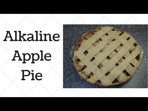 Apple Pie Dr.Sebi Alkaline Electric Recipe