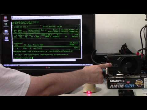 Linux Nvidia GPU Manual Fan control micro-howto