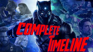 Marvel Cinematic Universe Chronological Timeline (v4.0)