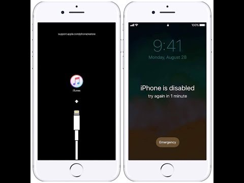 If you forgot the passcode for your iPhone, iPad, or iPod touch, or your device is disabled