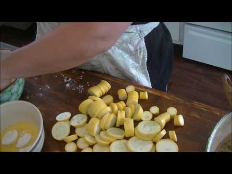 Easy Southern Fried Squash