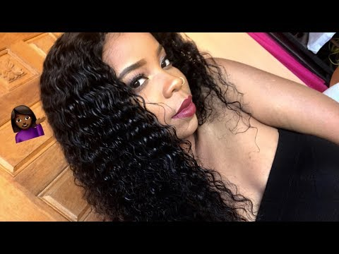 THIS HAIR IS LIFE GIRL! Model Model Wet and Wavy Sassy curl Initial review | TAJAHFERJUSTE