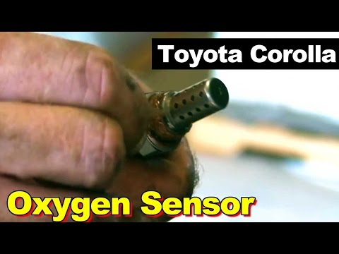 2001 Toyota Corolla Oxygen O2 Sensor How To Remove Replace Same as 1999-2002