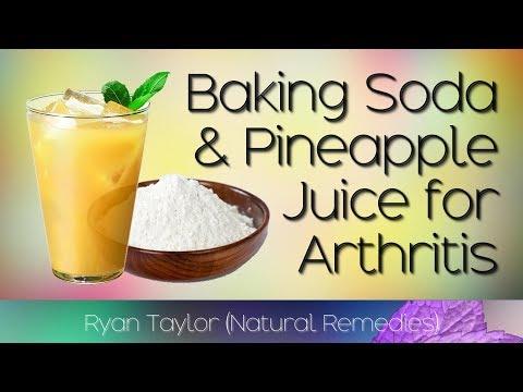 Baking Soda & Pineapple Juice: Benefits (Arthritis Remedy)