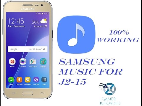 How to download & install Samsung Music in Samsung Galaxy J2-15/J2-16 100% Working