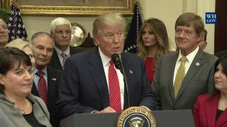 President Trump Signs the WOTUS Executive Order