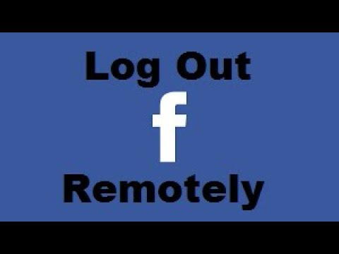 How To Log Out Of All Facebook Sessions Remotely