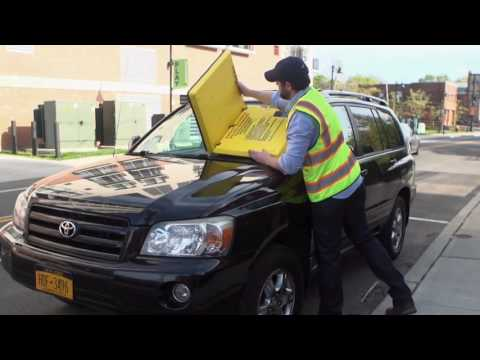 The Barnacle Turns Your Windshield Into a Giant Parking Ticket