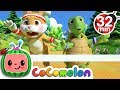 The Tortoise And The Hare More Nursery Rhymes Kids Songs CoCoMelon