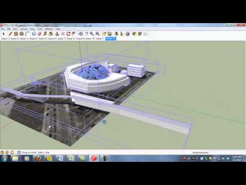 Upload building from Sketchup into Google Earth