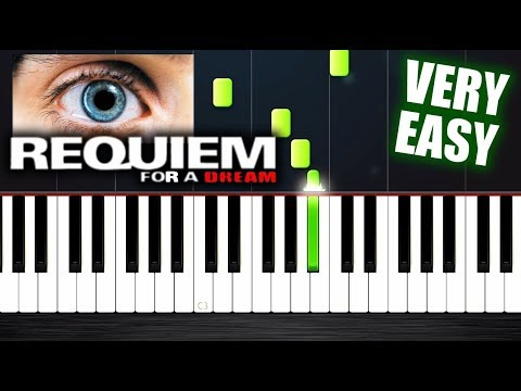Requiem For A Dream - VERY EASY Piano Tutorial by PlutaX