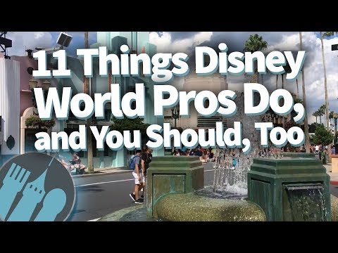 11 Things Disney World Pros Do, and You Should, Too