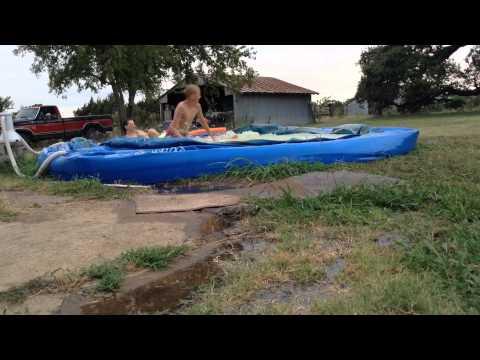 Draining my grandmas old pool