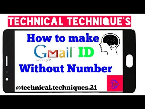 How To Get A FREE Custom Gmail Account (Email Address) by Technical Technique's
