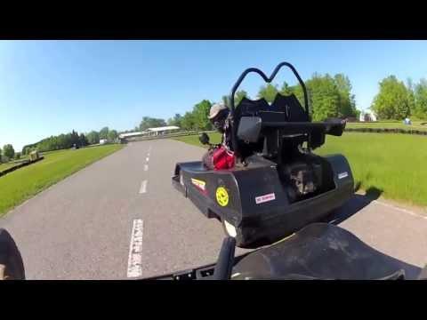 Karters Korner Paintball Meets Go Karting