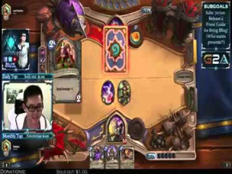 Amaz loses to Rank 25 Basic deck mage