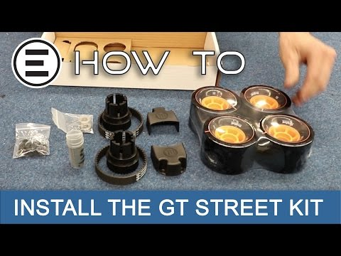 How To Change Your GT All Terrain to GT Street    Evolve Skateboards