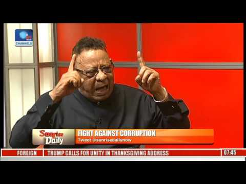Corruption Fight: Our System Of Governance Is The Basis Of Corruption In Nigeria - Clarke Pt. 1
