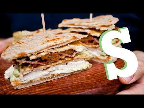 FLATBREAD CHICKEN CLUB SANDWICH RECIPE - SORTED