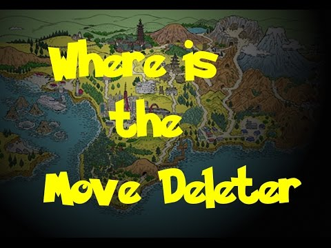 Where Is: The Move Deleter (Pokemon Gold/Silver/Crystal)