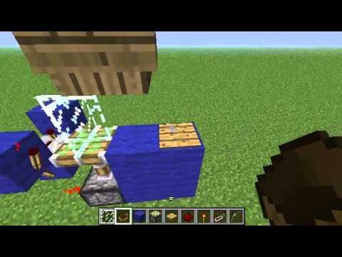 Minecraft Redstone Contraptions EP-003-Wireless Redstone (NO MODS)