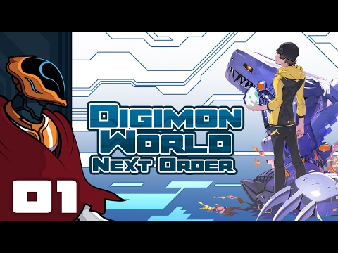 Let's Play Digimon World: Next Order [English] - PS4 Gameplay Part 1 - The Digital World At Last...