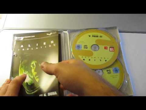 Alien Isolation Nostromo Edition - Unboxing (PC)