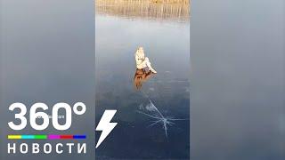 Блондинка из Балашихи на льду