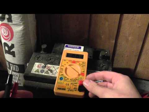 How to Test For a Dead Battery With Multimeter