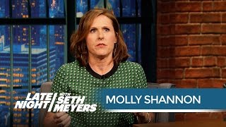Molly Shannon's Harrowing SWAT Team Ordeal - Late Night with Seth Meyers