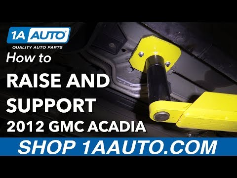 How to Raise & Support 2012 GMC Acadia