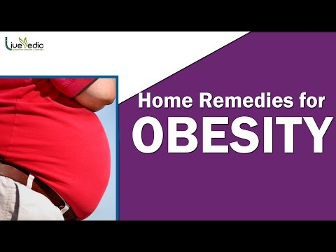 How To Cure Obesity | Simple Natural Home Remedies For Obesity | Live Vedic