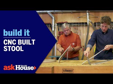 Build It   CNC Built Stool