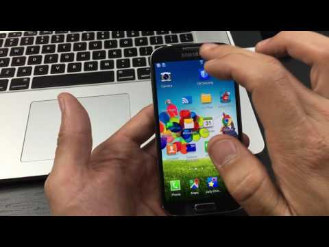 Galaxy S4: How to Enable Developer Options / USB Debugging Mode