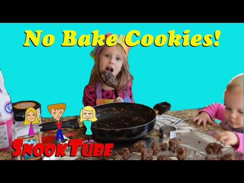 No Bake Cookies tutorial and recipe!