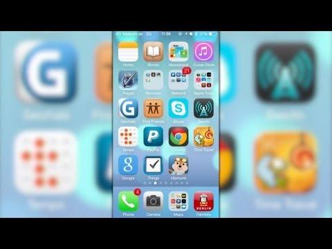 iOS 7 (Beta) auf dem iPhone 5 von Golem.de ausprobiert