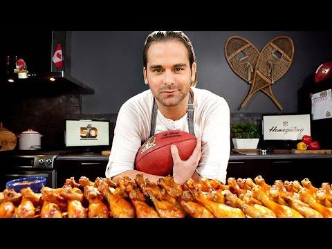 Golden Chicken Drumsticks Recipe | Homegating w/ Chef Matt Dean Pettit | NFL