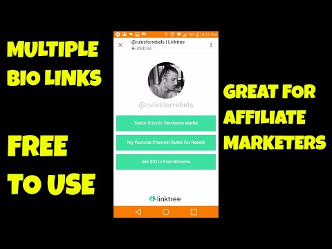 LinkTree Awesome Free Instagram Tool Allows You to have Multiple Bio Links