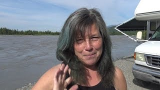 Alaska:  I Witness Global Warming at Matanuska Glacier and Philosophize about Nomad Life