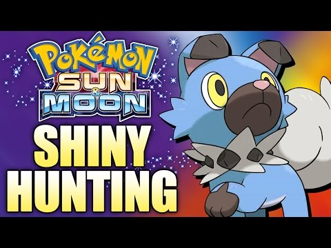 SHINY HUNTING ROCKRUFF! - Pokemon Sun and Moon