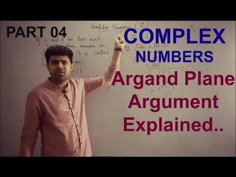 Complex Numbers 11th XI Part 04 / How to find Argument and Polar form in Argand plane