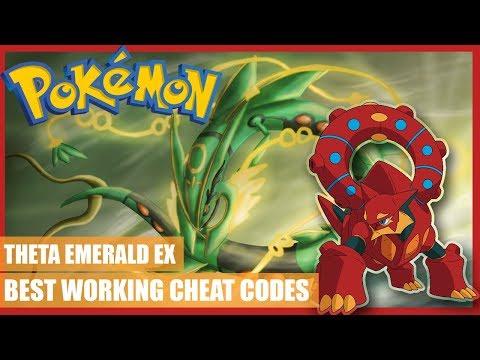 Pokemon Theta Emerald EX Cheats - Rare Candy, Steal Trainer Pokemon, Master ball, Walk Through Walls