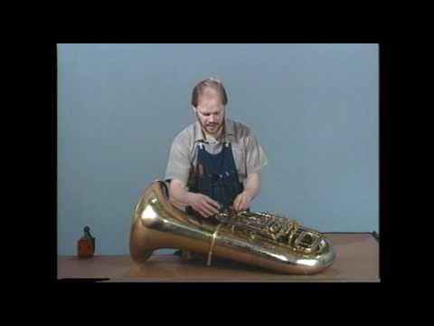 Tuba Repair #7  Stuck Slides  - Jeff Funderburk