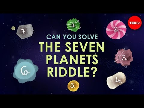 Can you solve the seven planets riddle? - Edwin F. Meyer